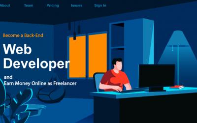 Become an Expert Back-End Web Developer and Earn Money Online as Freelancer